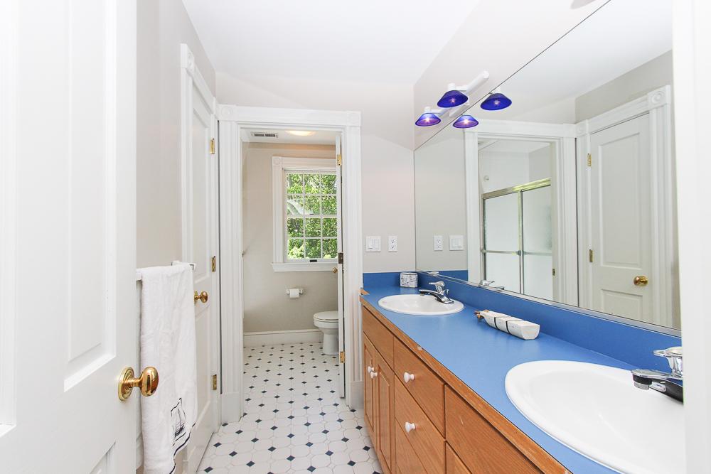 Bathroom with double dinks 8 Gussett Road Wenham Massachusetts