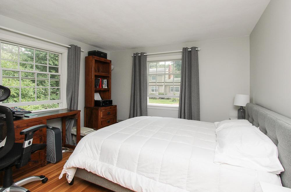 Second bedroom with hardwood floors 43 Homestead Circle Hamilton MA
