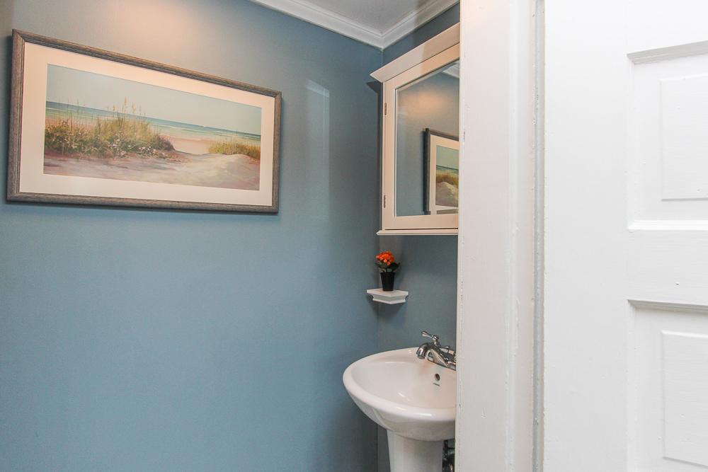 First floor half bath 9 Ames Street Beverly Massachusetts