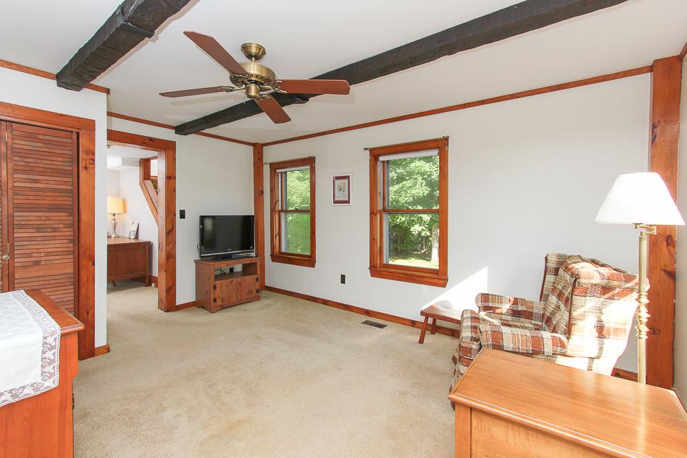 Den with office beyond 115 South Main Street Topsfield Massachusetts