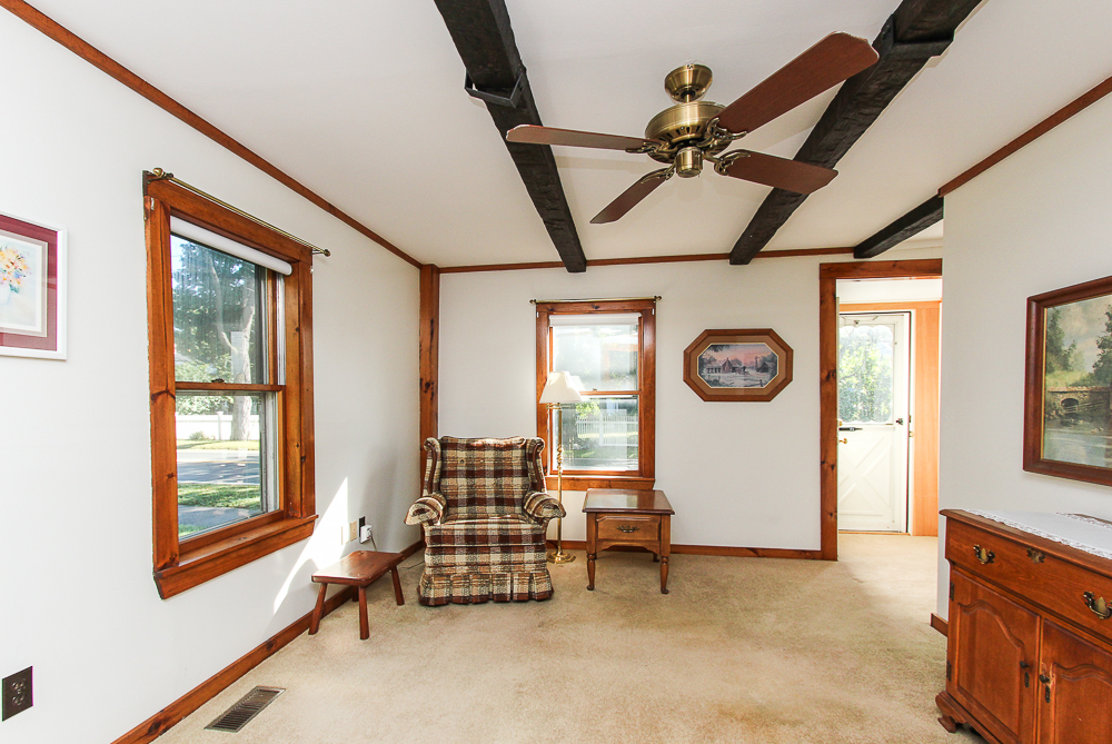 Den with carpet and ceiling fan 115 South Main Street Topsfield Massachusetts