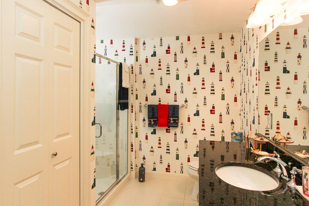 Lower level bathroom 1B Plover Street Gloucester, MA