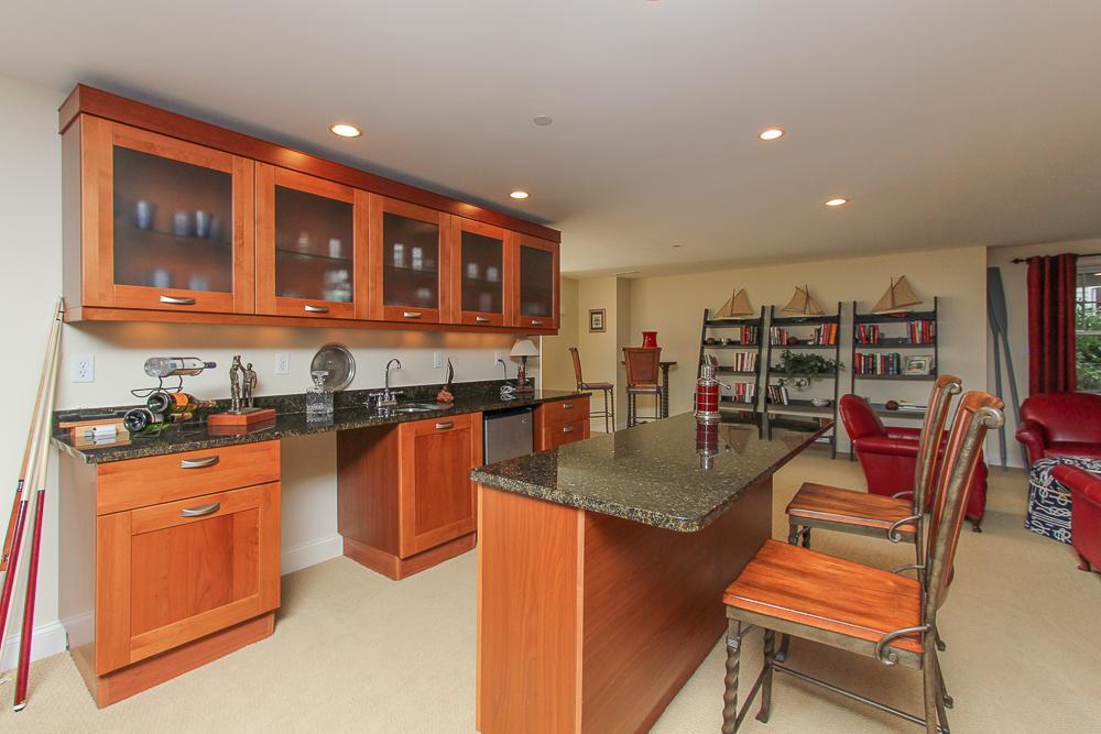 Lower level Bar in family room 1B Plover Street Gloucester, MA