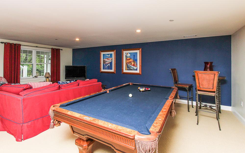 Lower level family room 1B Plover Street Gloucester, MA