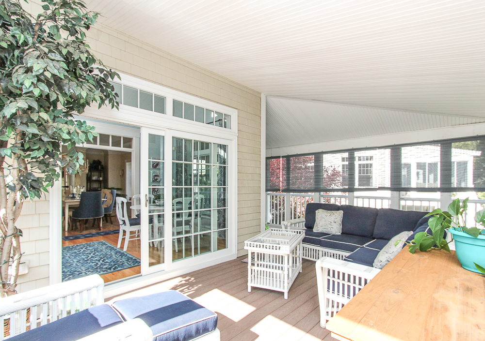 Screened porch 1B Plover Street Gloucester, MA