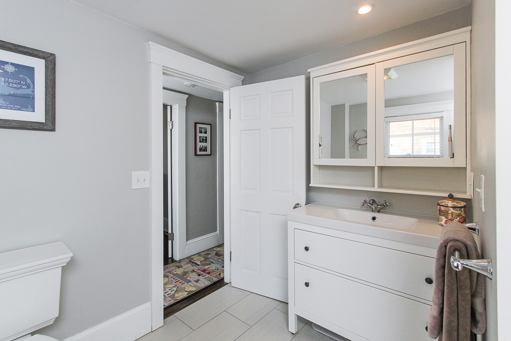 Bathroom vanity 43 Lawrence Street Danvers MA
