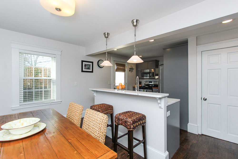 Dining room breakfast bar and kitchen 43 Lawrence Street Danvers MA