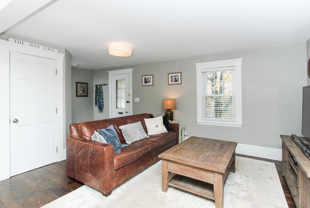Living room 43 Lawrence Street Danvers MA