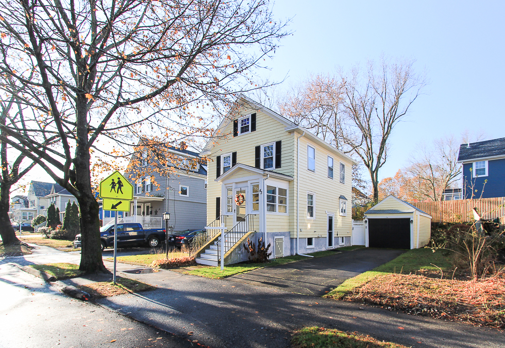 Front view of 43 Lawrence Street Danvers MA