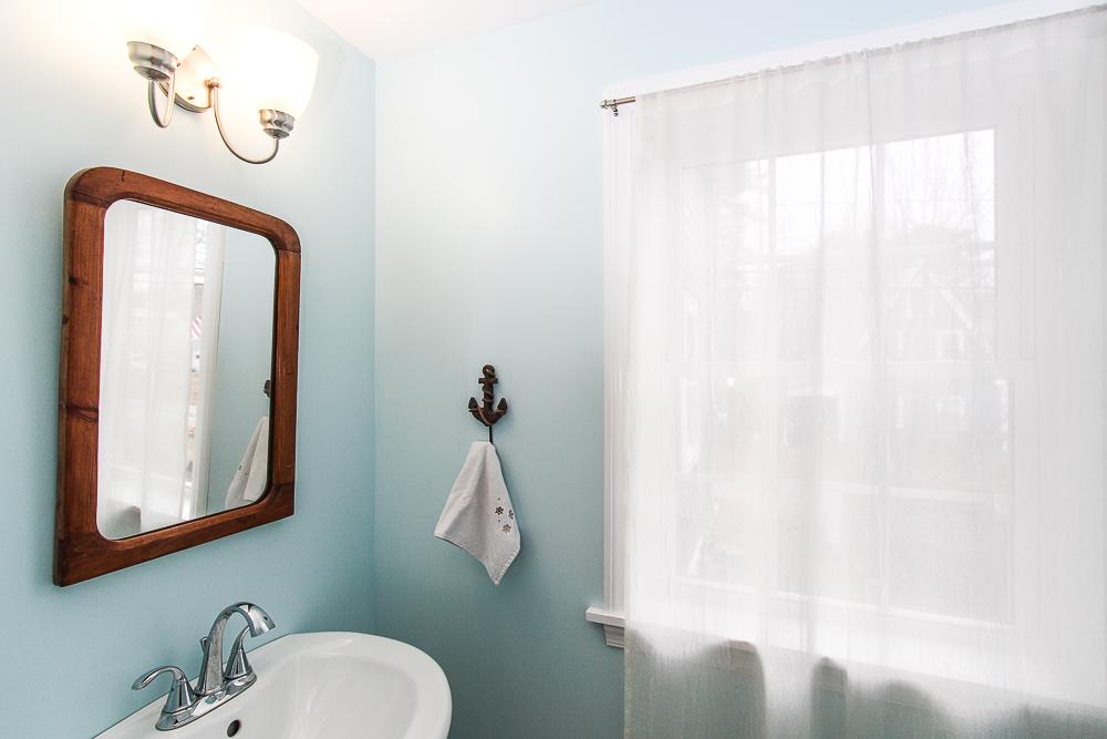 Half bath on first floor 229 Highland Street Hamilton MA