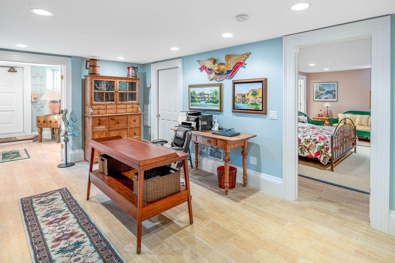 Office and bedroom lower level 18 Jewett Street Rockport MA
