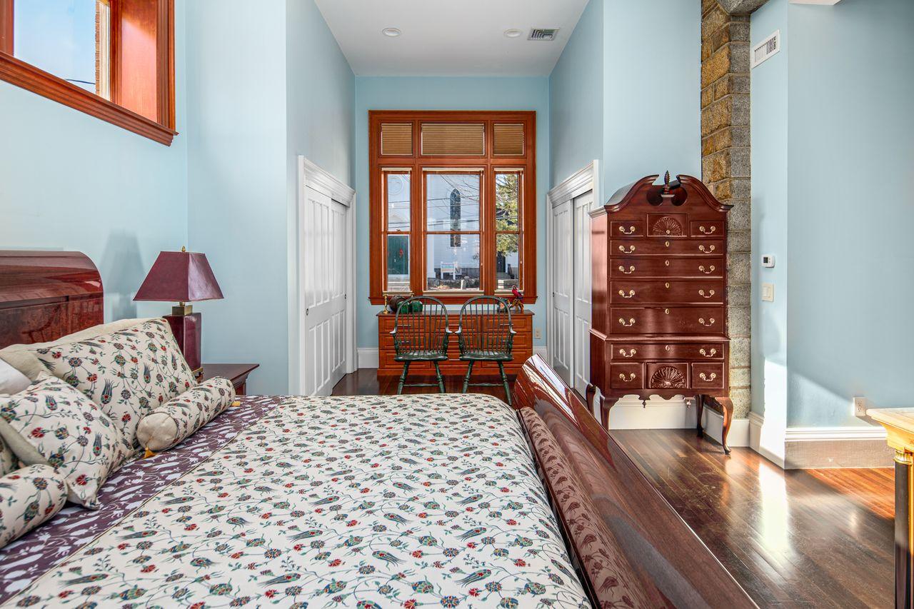Master bedroom 18 Jewett Street Rockport MA
