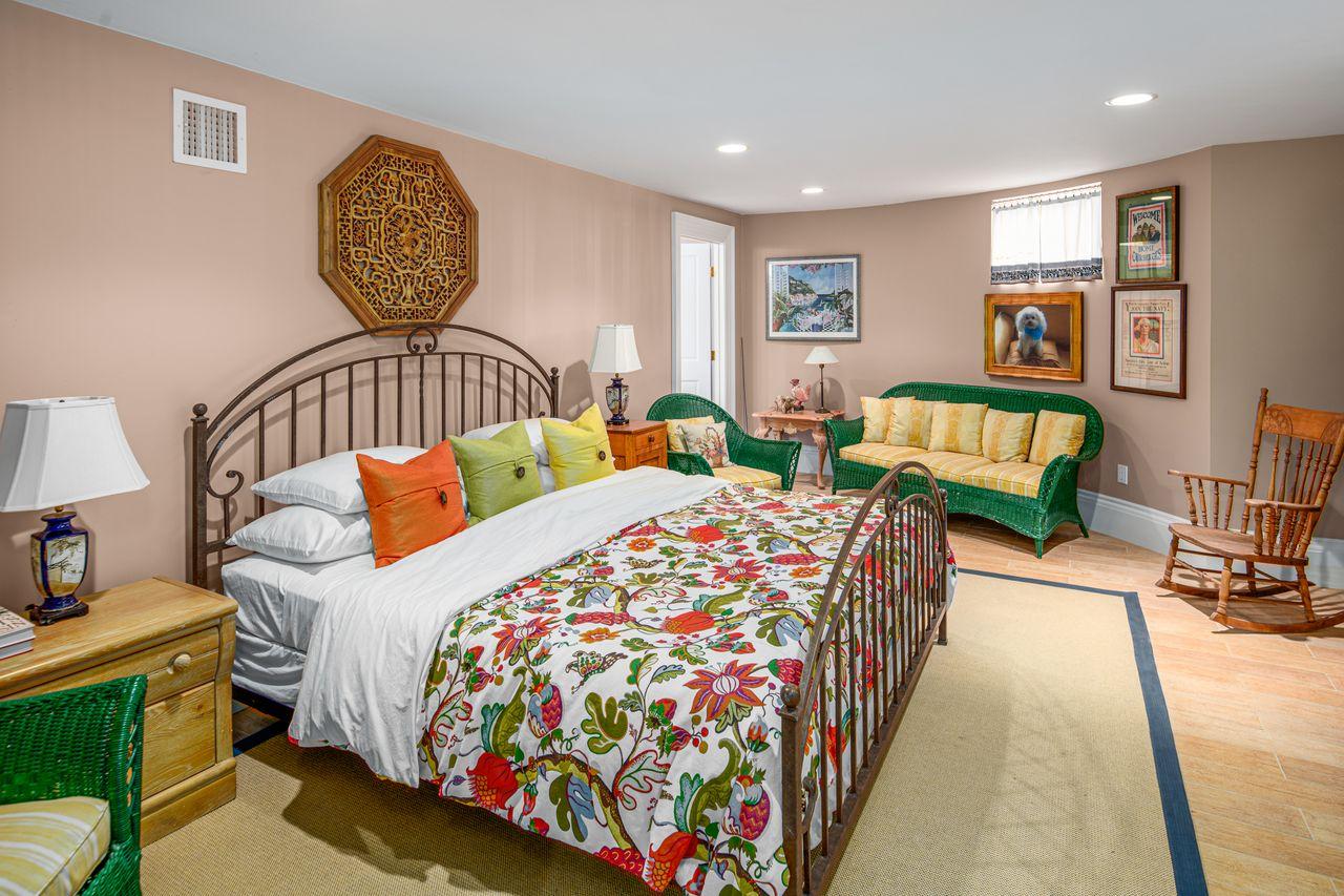 Lower level bedroom 18 Jewett Street Rockport MA
