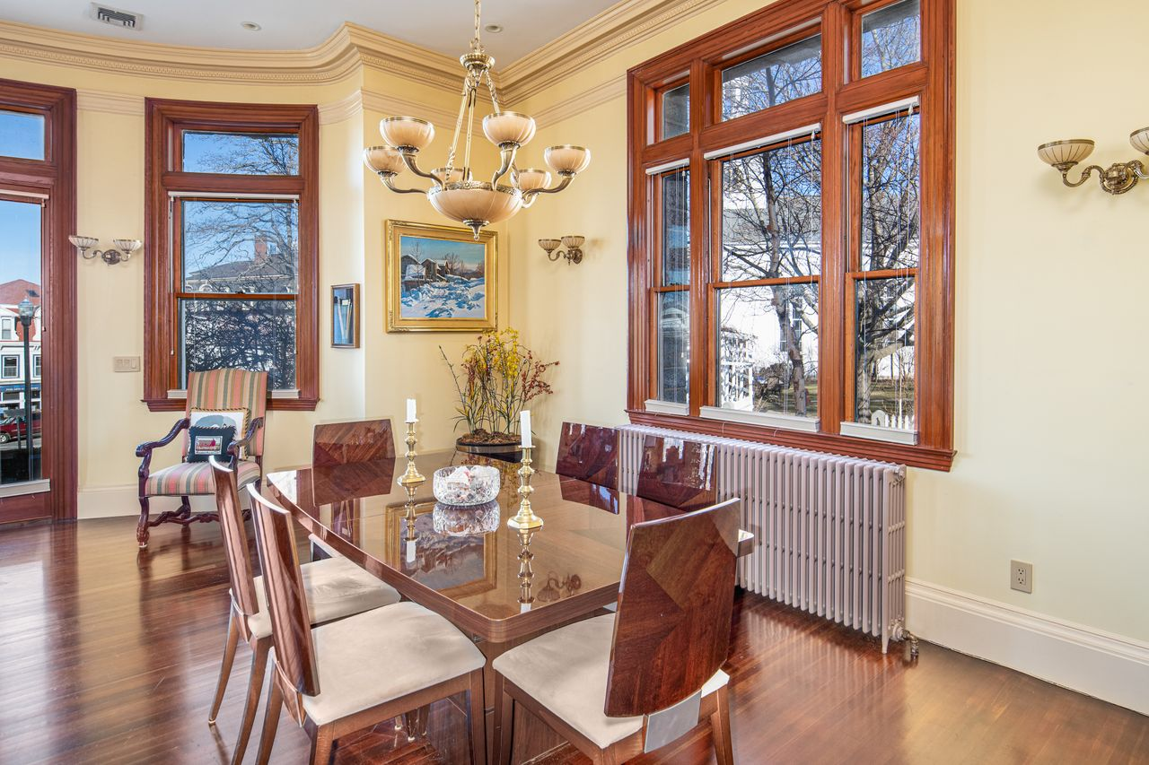 Dining room 18 Jewett Street Rockport MA