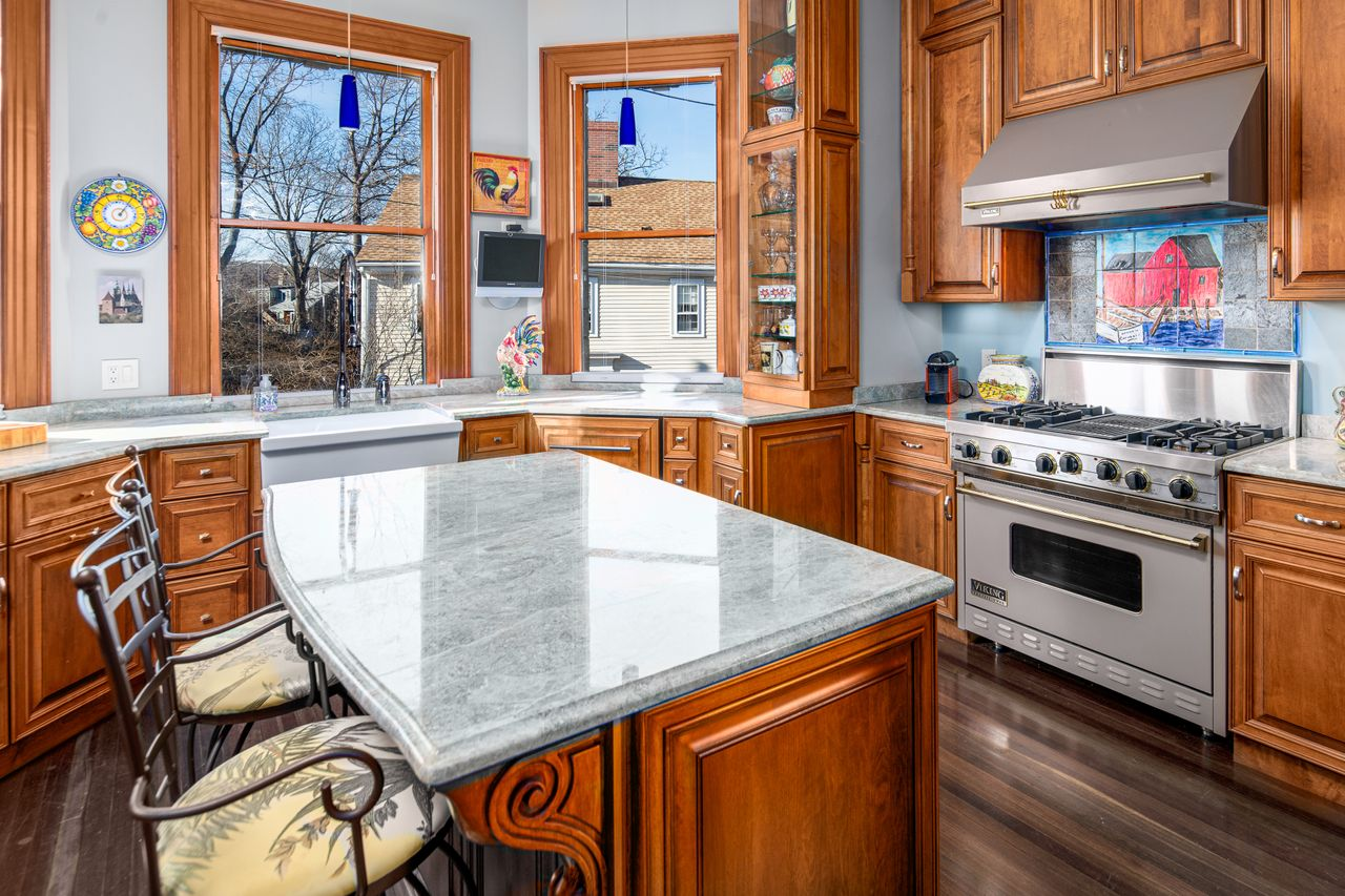 Kitchen 18 Jewett Street Rockport MA