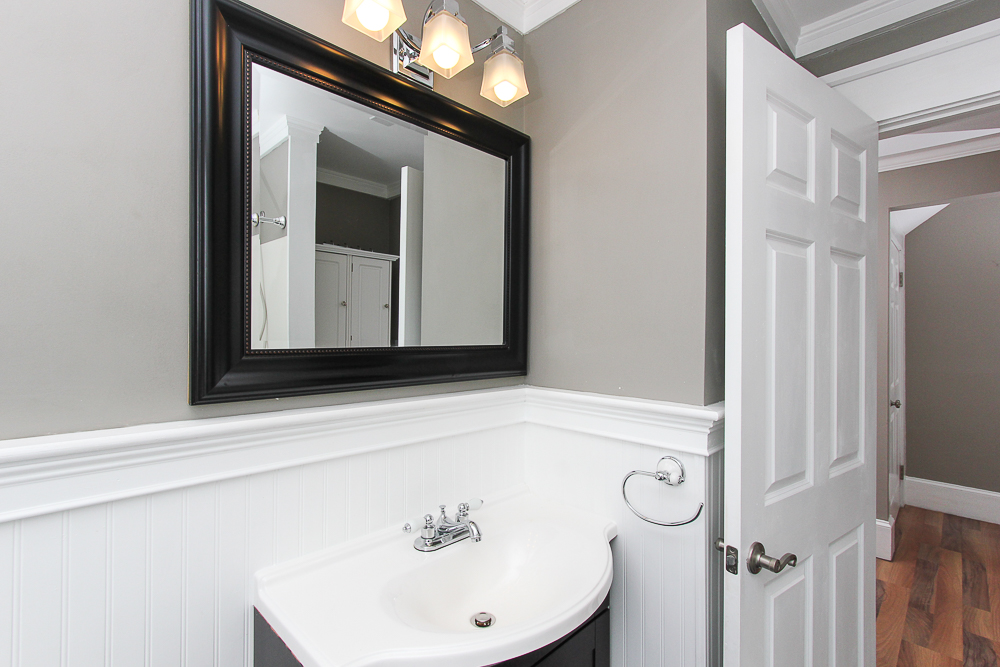 Bathroom in the 2nd floor unit of 496 Cabot Street Beverly MA