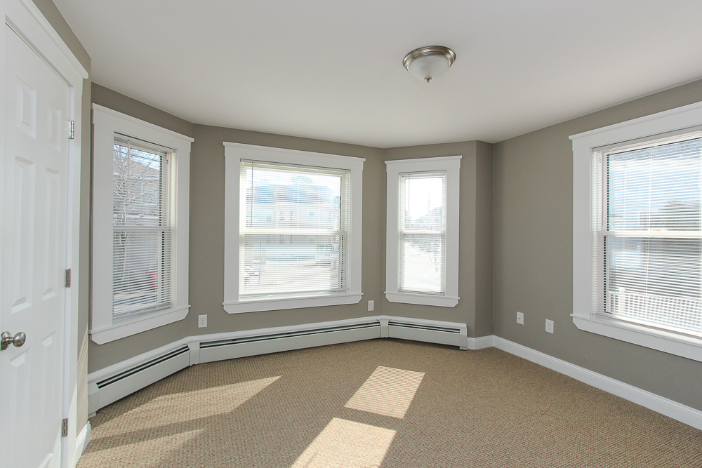 Bedroom in 1st floor unit of 496 Cabot Street Beverly MA