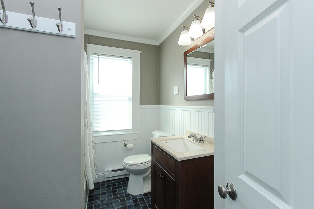 Bathroom in the 1st florr unit of 496 Cabot Street Beverly MA