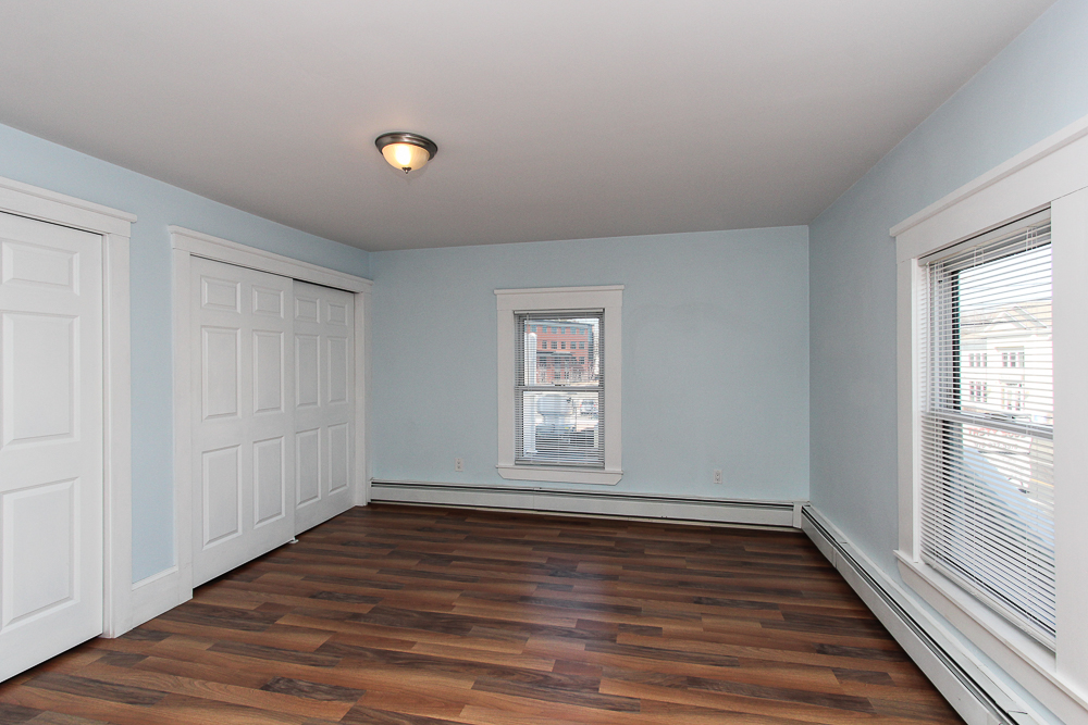 Bedroom in the 2nd floor unit of 496 Cabot Street Beverly, MA