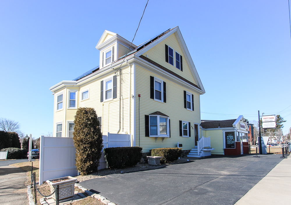 Front View of 496 Cabot Street Beverly MA