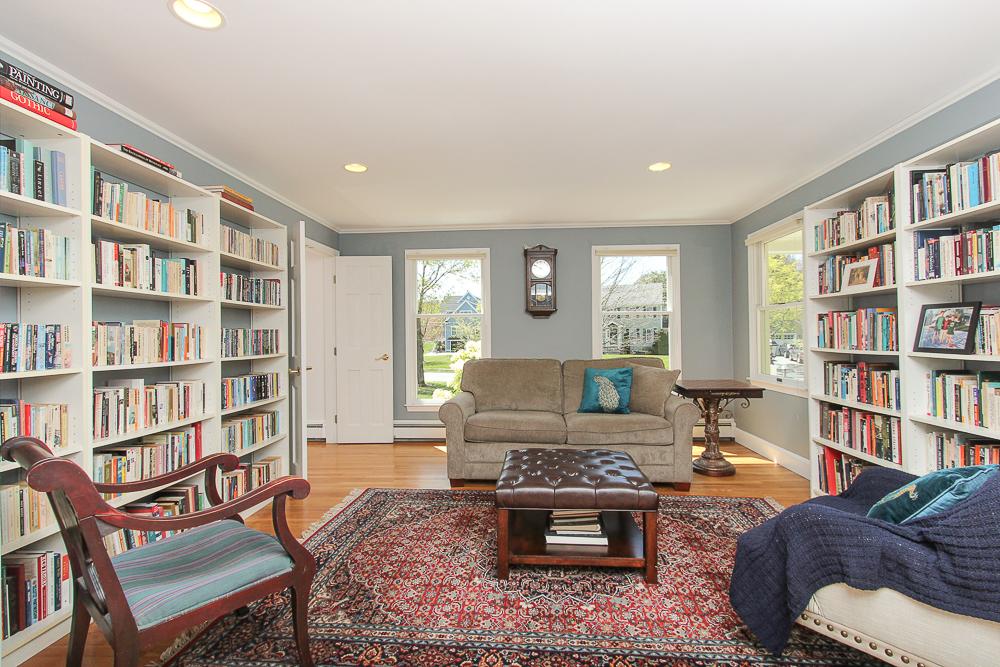 Library from the kitchen 10 Patton Drive Hamilton MA