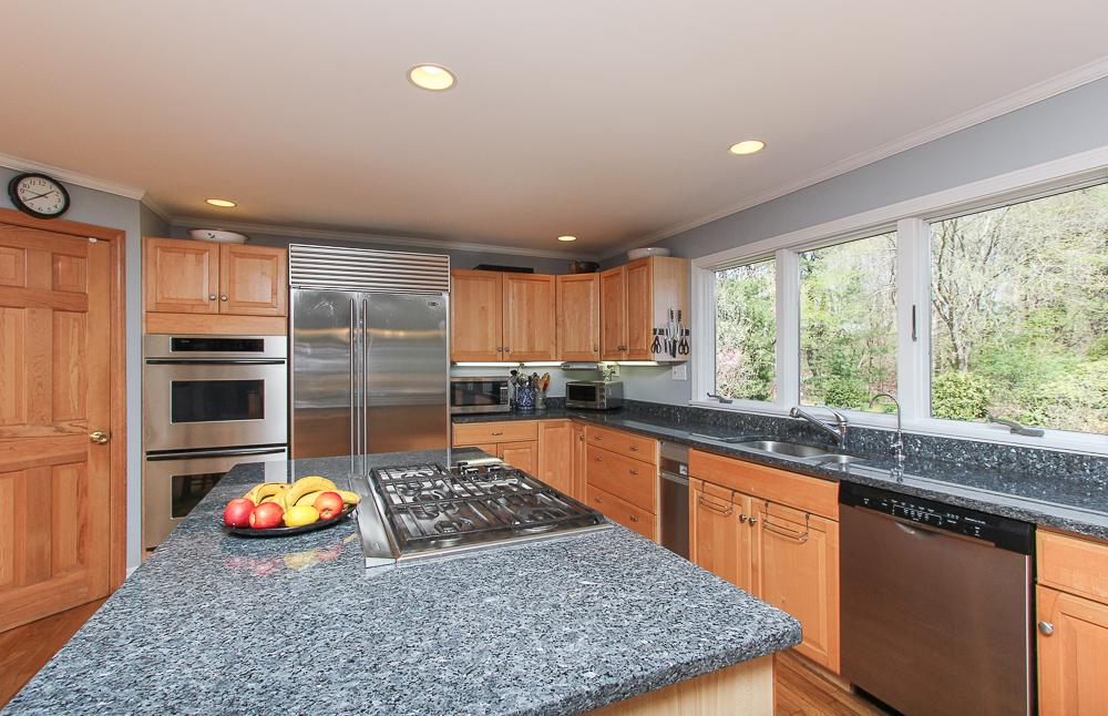 Granite island in the kitchen 10 Patton Drive Hamilton MA