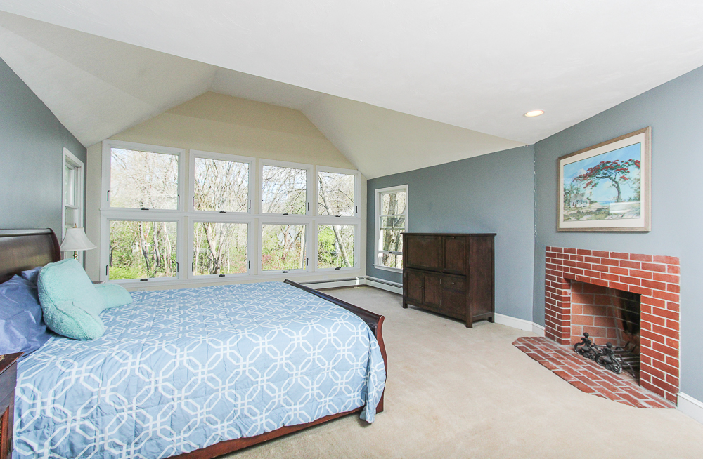Master bedroom with fireplace 10 Patton Drive Hamilton MA