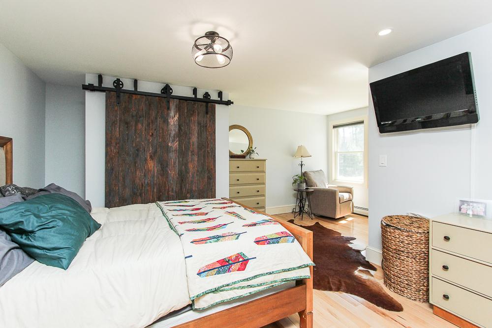 Master bedroom 896 Haverhill Street Rowley MA