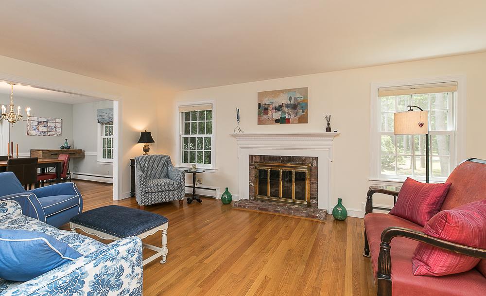 Fireplace - Living Room 85 Perkins Row Topsfield MA