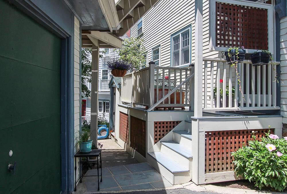 back steps 44 Baker Avenue Beverly MA