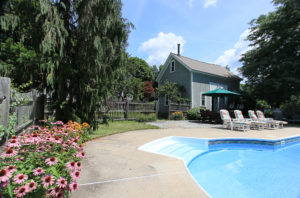 Pool and Barn at 298 High Street Ipswich MA