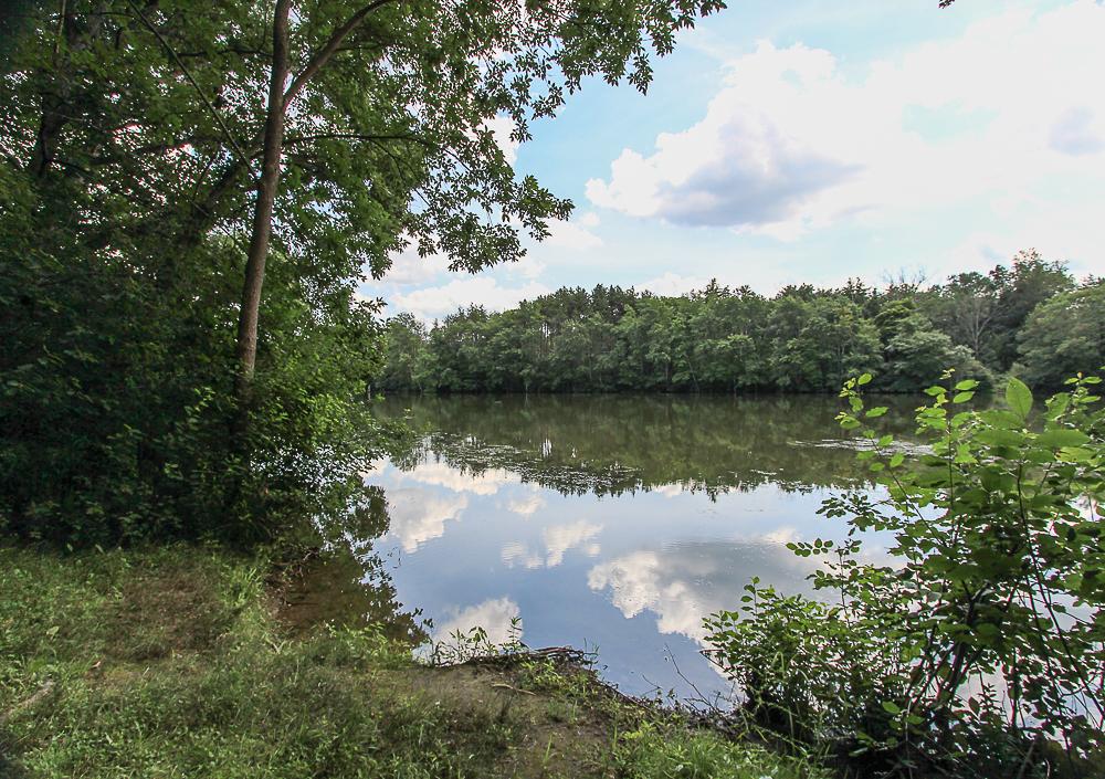 Dow Brook Reservoir near 298 High Street Ipswich MA