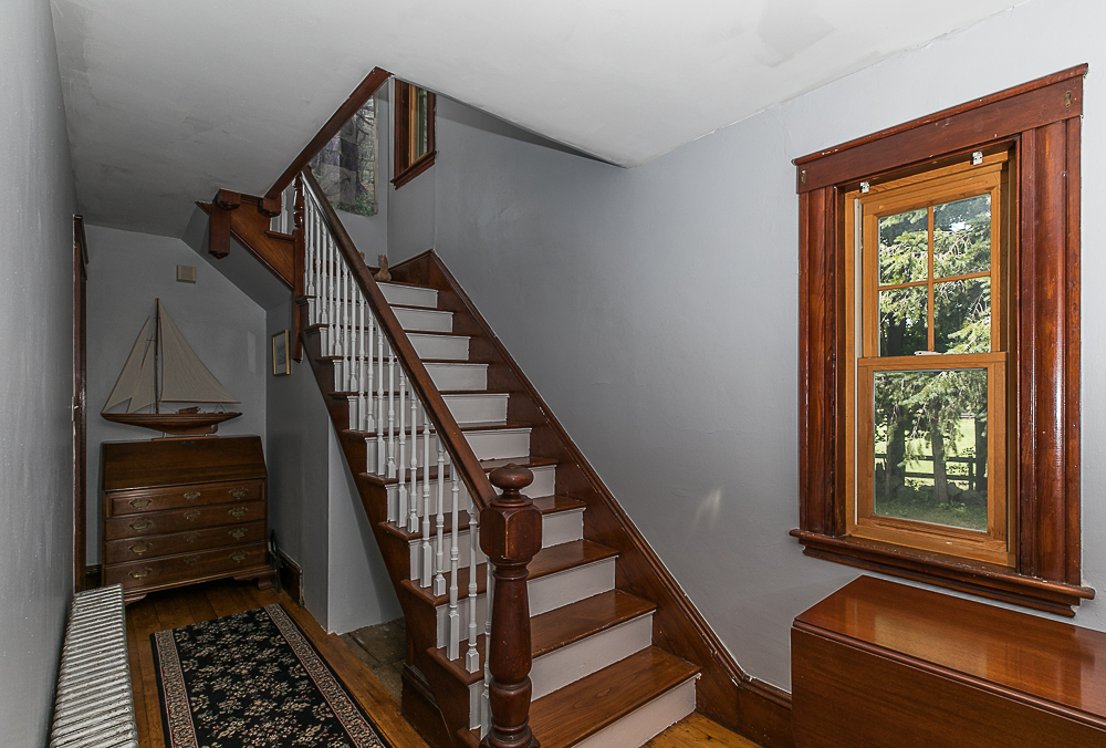 Foyer and Stairway 298 High Street Ipswich MA