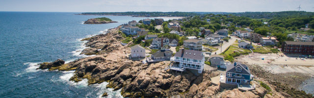 Aerial View 20 High Rock Terrace Gloucester MA