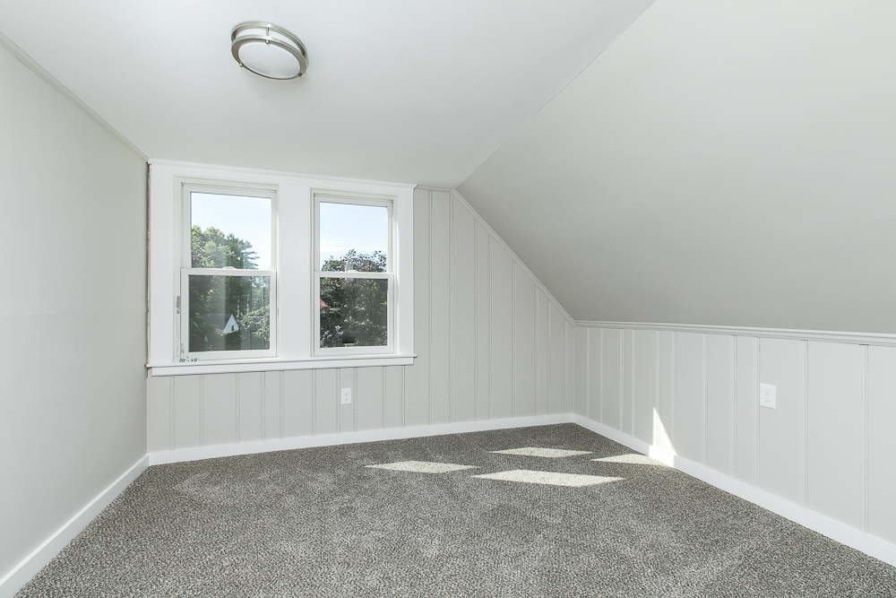 Bedroom with wall to wall carpet 38-C Arbor Street Wenham Massachusetts