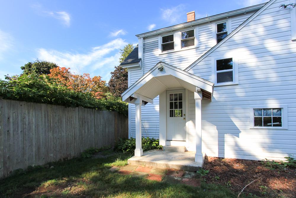 Portico at 38-C Arbor Street Wenham Massachusetts