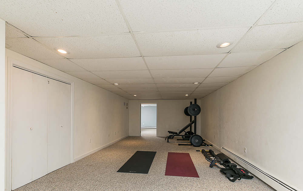 Excercise in basement 10 Farrington Lane Hamilton Massachusetts