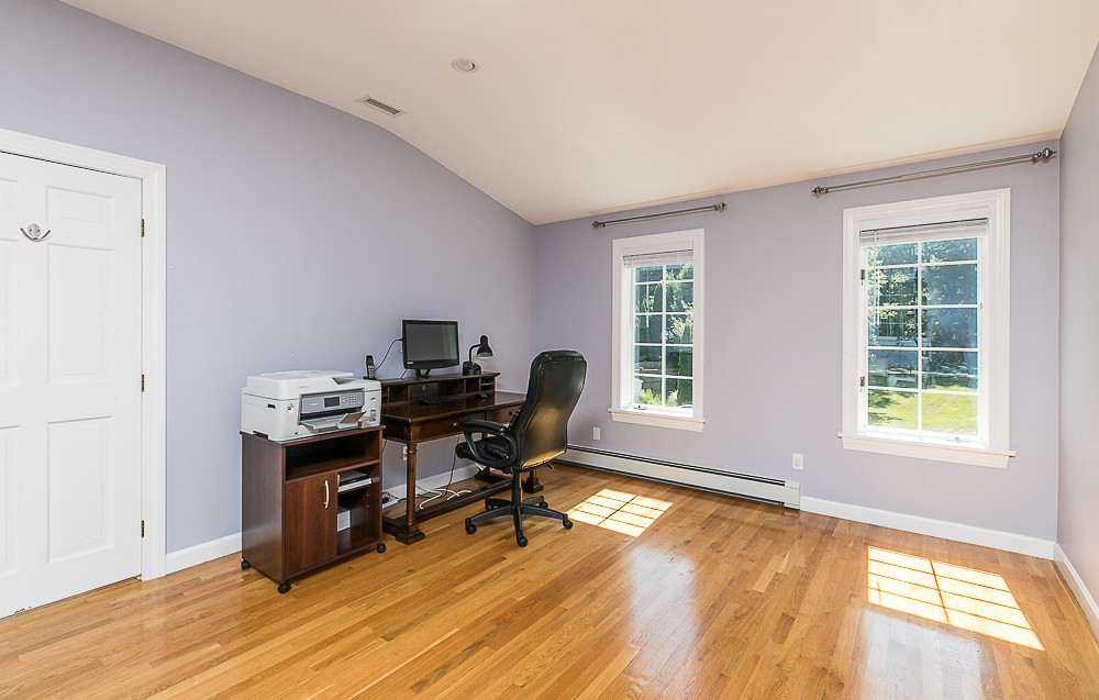 Second floor office with hardwood floors 10 Farrington Lane Hamilton Massachusetts