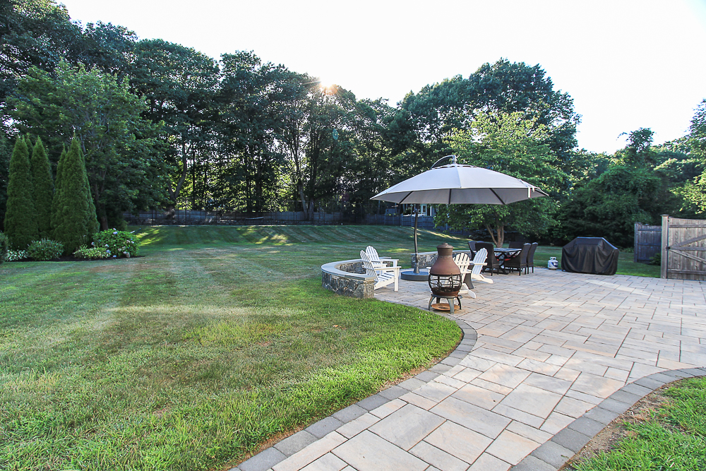 Path Patio and yard 10 Farrington Lane Hamilton Massachusetts