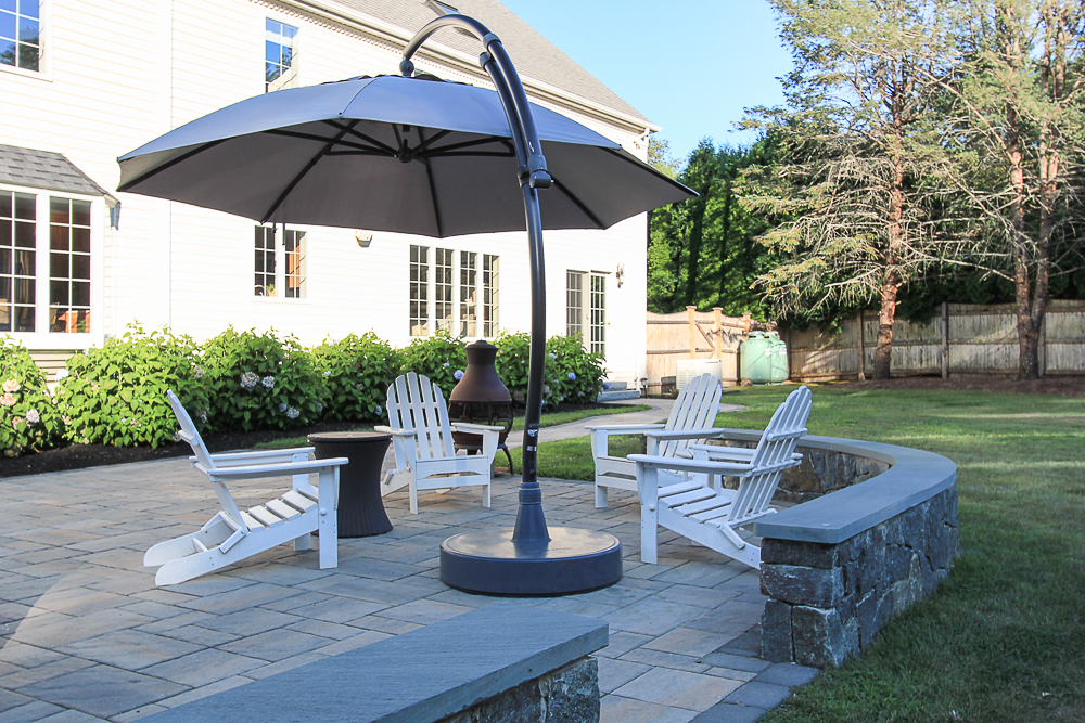 Seating on the patio 10 Farrington Lane Hamilton Massachusetts