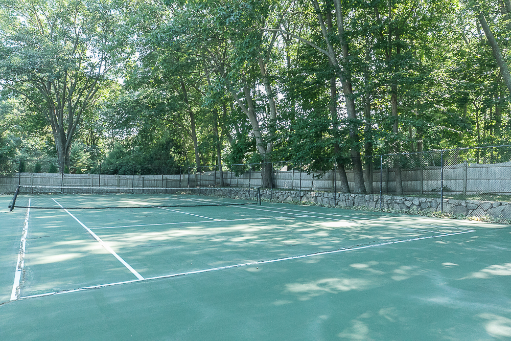 Tennis court 10 Farrington Lane Hamilton Massachusetts