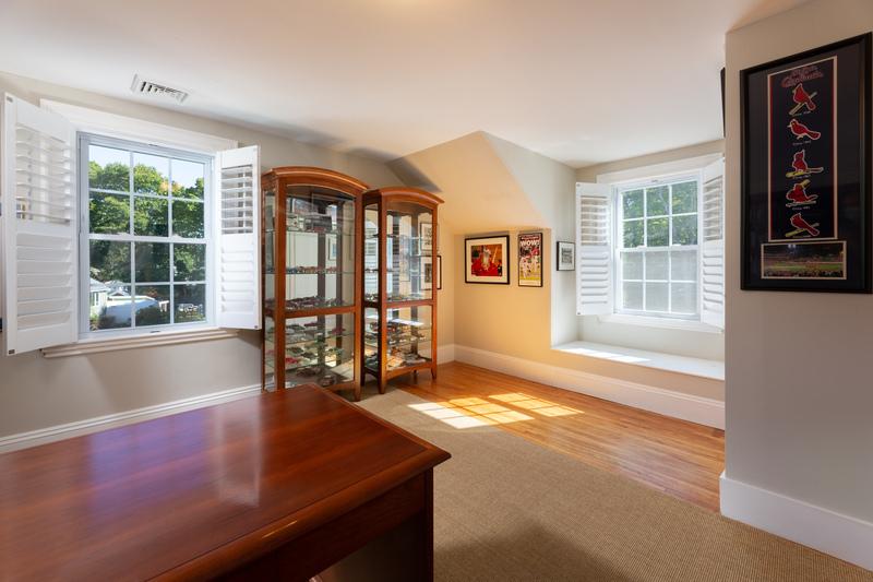 Bedroom set up as office 568 Hale Street Beverly Massachusetts