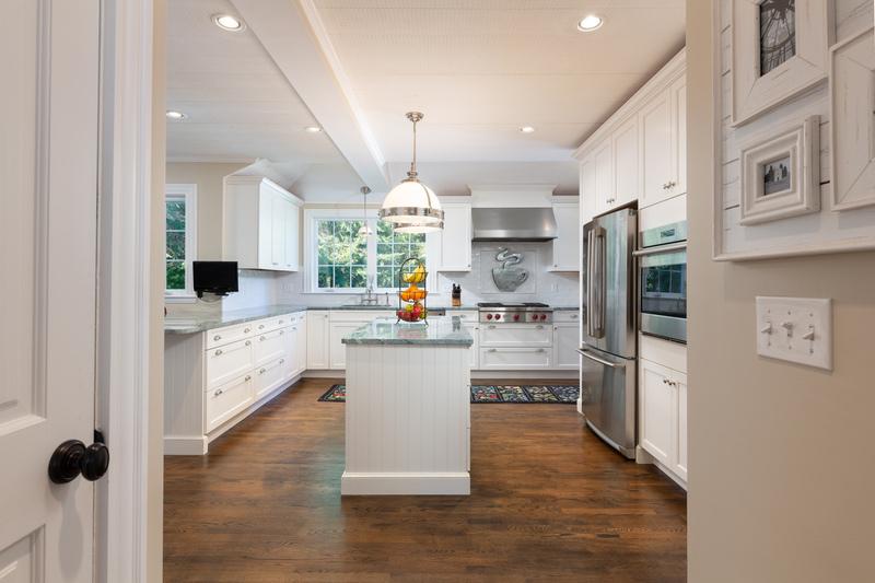 Kitchen from the foyer 568 Hale Street Beverly Massachusetts