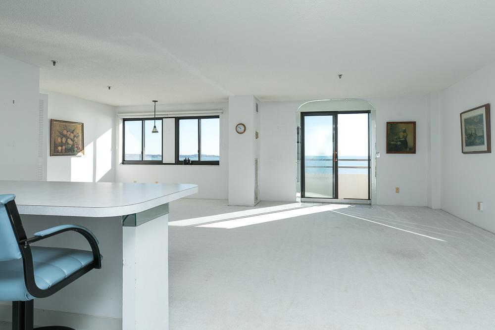 Living room from the kitchen 510-1002 Revere Beach BLVD Revere Massachusetts
