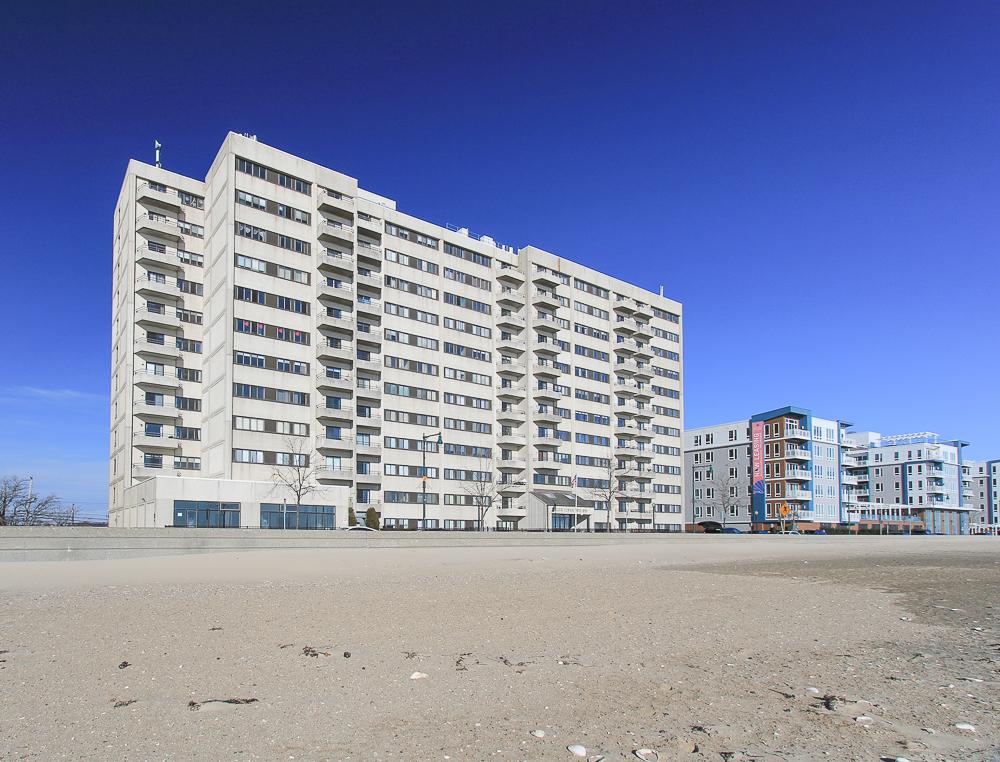 Front of the building from the beach 510-1002 Revere Beach BLVD Revere Massachusetts