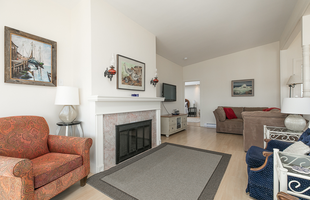 Living room with fireplace 23 Wyoma Road Gloucester Massachusetts