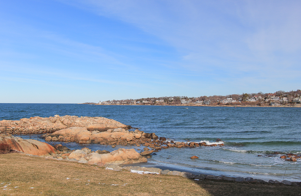 View from the yard 23 Wyoma Road Gloucester Massachusetts