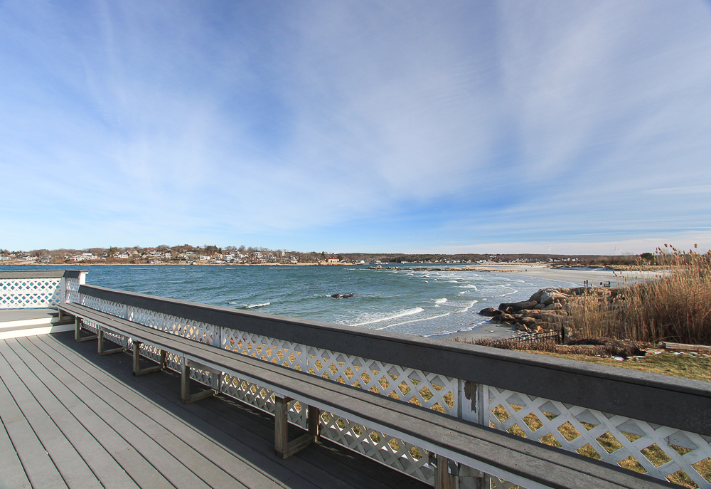 View from the side deck at 23 Wyoma Road Gloucester Massachusetts
