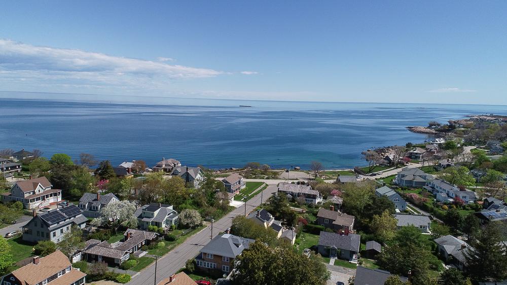 Aerial Neighborhood and Old Garden Beach