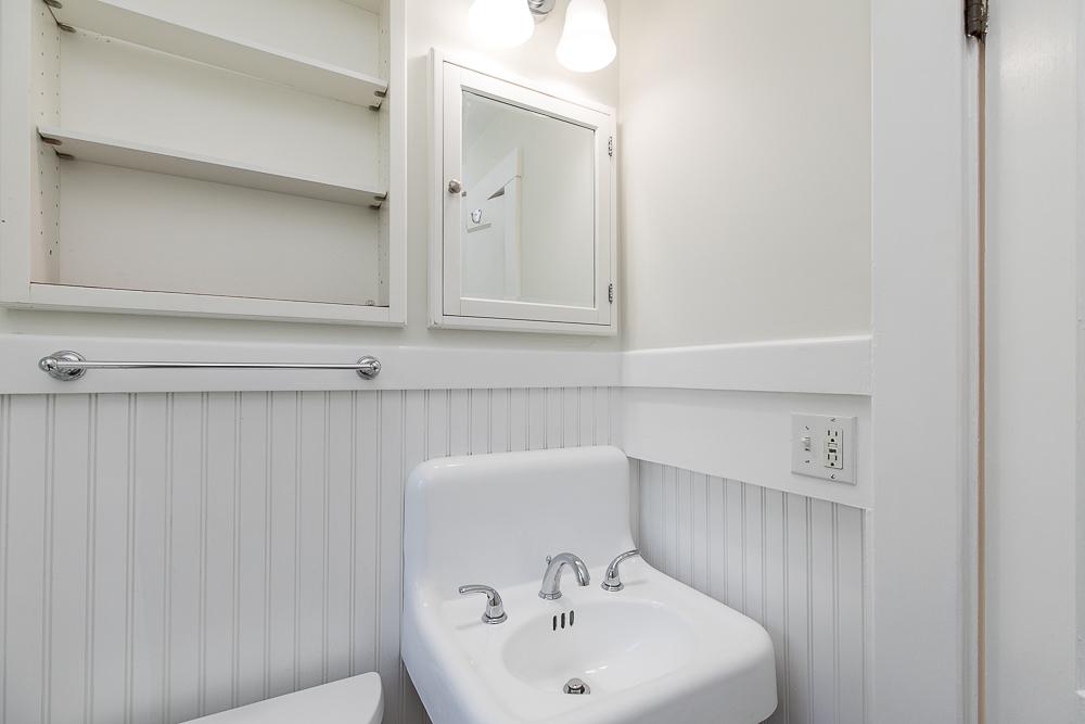 Bathroom sink 40 Atlantic Avenue Rockport Massachusetts